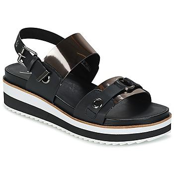 Topánky Ženy Sandále Coolway DOLPHIN Čierna