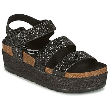Topánky Ženy Sandále Coolway CUMBIA čierna