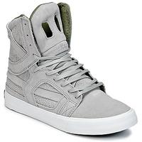 Topánky Členkové tenisky Supra SKYTOP II šedá