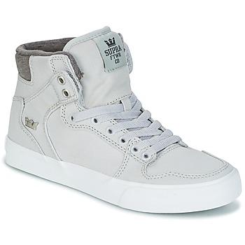 Topánky Členkové tenisky Supra VAIDER šedá