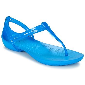 Topánky Ženy Sandále Crocs CROCS ISABELLA T-strap Modrá