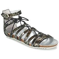 Topánky Ženy Sandále Regard RABAZO Čierna / Strieborná