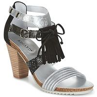 Topánky Ženy Sandále Regard RIKA Strieborná / Čierna