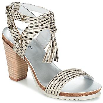 Topánky Ženy Sandále Regard RIKIL Strieborná