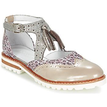 Topánky Ženy Derbie Regard ROAXO Béžová / Strieborná