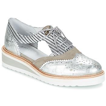 Topánky Ženy Derbie Regard RYXA Strieborná