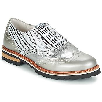 Topánky Ženy Derbie Regard ROAXA Strieborná