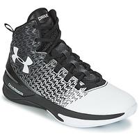 Topánky Muži Basketbalová obuv Under Armour UA ClutchFit Drive 3 čierna / Biela