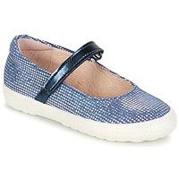 Topánky Dievčatá Balerínky a babies Acebo's SIULO Námornícka modrá