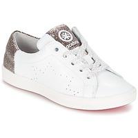 Topánky Dievčatá Nízke tenisky Acebo's SOUDIN Biela