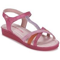 Topánky Dievčatá Sandále Agatha Ruiz de la Prada BINETTE Ružová