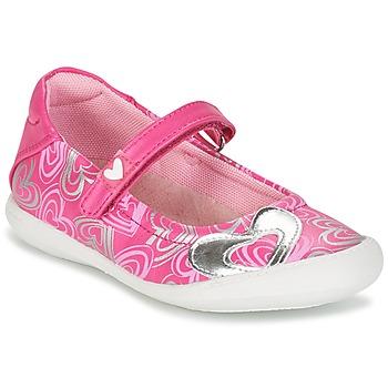 Topánky Dievčatá Balerínky a babies Agatha Ruiz de la Prada BALOIN Ružová