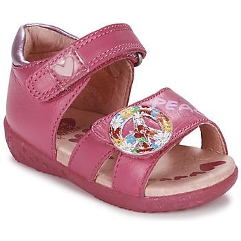 Topánky Dievčatá Sandále Agatha Ruiz de la Prada BOUTICHEK Ružová