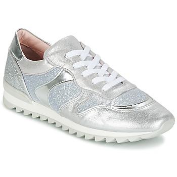 Topánky Dievčatá Nízke tenisky Unisa DAYTONA Strieborná