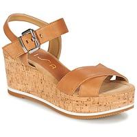 Topánky Ženy Sandále Unisa KARPI Béžová
