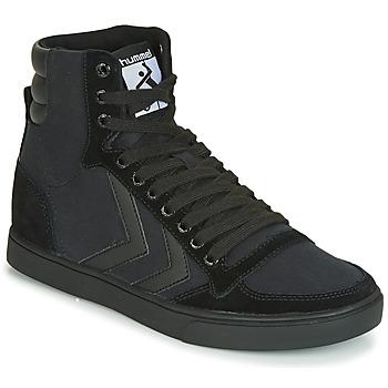 Topánky Členkové tenisky Hummel TEN STAR TONAL HIGH Čierna