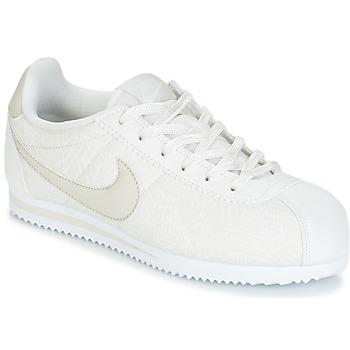 Topánky Dievčatá Nízke tenisky Nike CORTEZ LEATHER SE JUNIOR Béžová