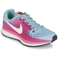 Topánky Ženy Bežecká a trailová obuv Nike AIR ZOOM PEGASUS 34 Modrá / Fuksiová