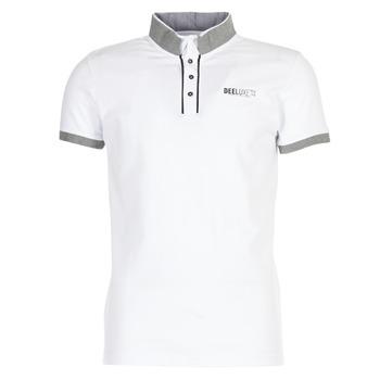 Oblečenie Muži Polokošele s krátkym rukávom Deeluxe SQUART Biela