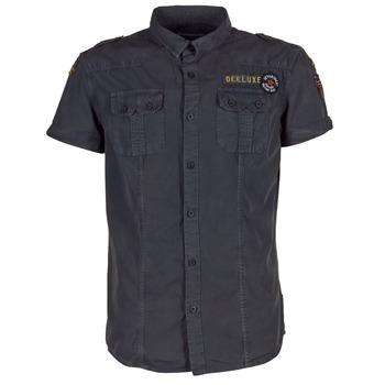 Oblečenie Muži Košele s krátkym rukávom Deeluxe BURTY šedá