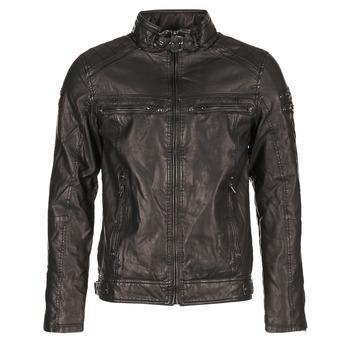 Oblečenie Muži Kožené bundy a syntetické bundy Deeluxe SPANGLE čierna