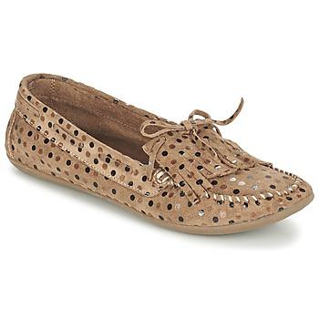 Topánky Ženy Mokasíny Ippon Vintage MOC POINTS Hnedošedá