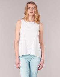 Oblečenie Ženy Tielka a tričká bez rukávov Desigual ROMINESSA Biela