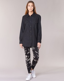 Oblečenie Ženy Legíny Desigual CAMIOLES čierna / šedá