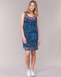 Oblečenie Ženy Krátke šaty Desigual LIORASE Modrá