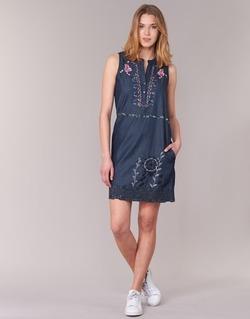 Oblečenie Ženy Krátke šaty Desigual LIRASE Modrá