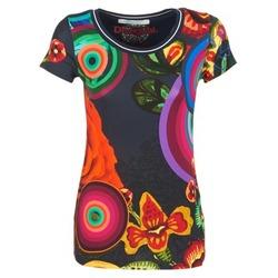 Oblečenie Ženy Tričká s krátkym rukávom Desigual GRIZELLO Viacfarebná