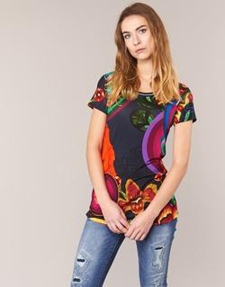 Oblečenie Ženy Tričká s krátkym rukávom Desigual GRIZILLO Viacfarebná