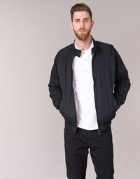 Oblečenie Muži Bundy  Ben Sherman HARRINGTON Čierna