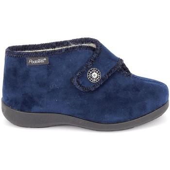 Topánky Ženy Papuče Fargeot Caliope marine Modrá