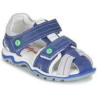 Topánky Chlapci Sandále Babybotte KARTER Modrá / Zelená / šedá