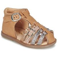 Topánky Dievčatá Balerínky a babies Babybotte TWIX Ťavia hnedá