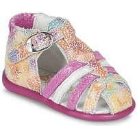 Topánky Dievčatá Sandále Babybotte GUPPY Ružová / Viacfarebná