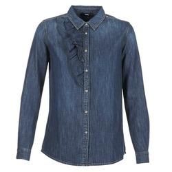 Oblečenie Ženy Košele a blúzky Diesel DE KELLY Modrá