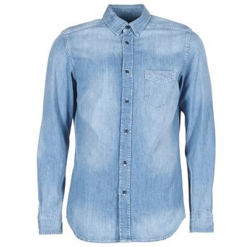 Oblečenie Muži Košele s dlhým rukávom Diesel D CARRY Modrá