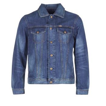 Oblečenie Muži Džínsové bundy Diesel NHILL Modrá