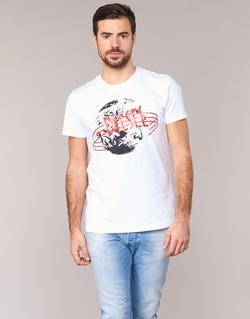 Oblečenie Muži Tričká s krátkym rukávom Diesel T DIEGO NC Biela