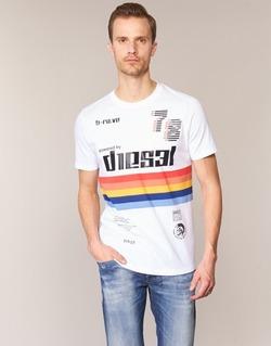 Oblečenie Muži Tričká s krátkym rukávom Diesel T JOE OB Biela