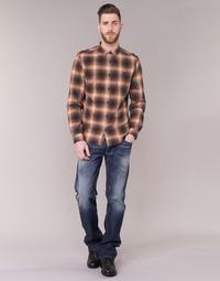Oblečenie Muži Rovné džínsy Diesel LARKEE Modrá / 0859Y