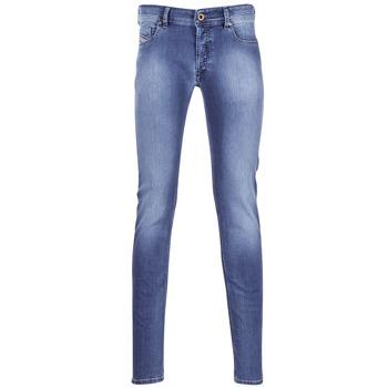 Oblečenie Muži Džínsy Slim Diesel SLEENKER Modrá / 0681n