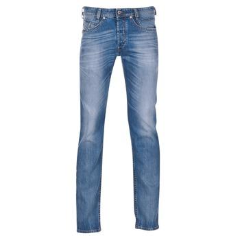 Oblečenie Muži Džínsy Slim Diesel AKEE Modrá / 084DF