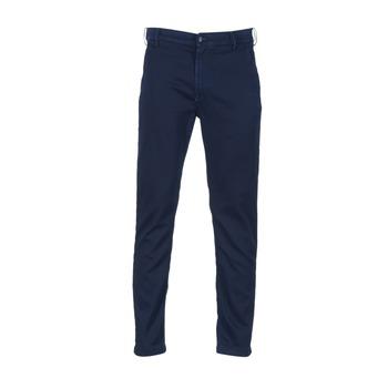 Oblečenie Muži Nohavice Chinos a Carrot Diesel SLIM CHINO JOGGJEANS Modrá / 0680F