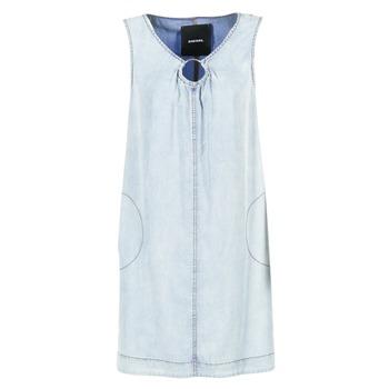 Oblečenie Ženy Krátke šaty Diesel DE ISBEC Modrá