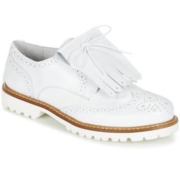Topánky Ženy Derbie Jonak AUSTRAL Biela