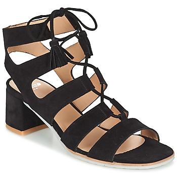 Topánky Ženy Sandále Perlato QUEZOKA čierna