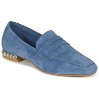 Topánky Ženy Mokasíny Perlato KAMINA Modrá